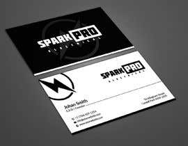 #74 for Design a business card for an electrical contractor by tmshovon