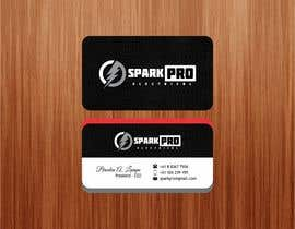 #35 for Design a business card for an electrical contractor by qamarkaami