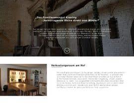 #5 für Webseitendesign Weinbau , Website of a winery von jakobgoldmann