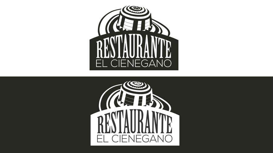 """Konkurrenceindlæg #3 for Hi guys! I need your help to create the logo of my new restaurant. It is called """"RESTAURANTE EL CIENEGANO"""". I attach proposed colors and concept. It is important that the logo bears a hat typical of the Colombian Caribbean coast since that is the theme"""
