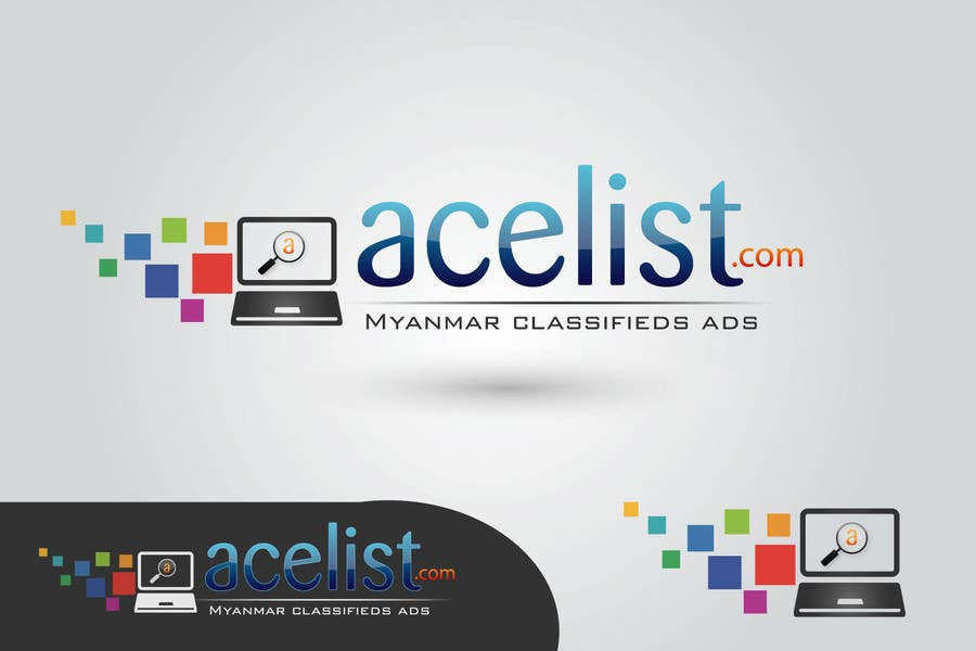 Bài tham dự cuộc thi #                                        74                                      cho                                         company logo icon with acelist.com and Myanmar classifieds ads text