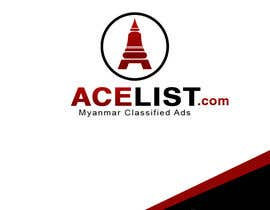 #70 untuk company logo icon with acelist.com and Myanmar classifieds ads text oleh mega619