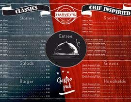 #2 for Experienced designer for American Restaurant Menu by LettersDi