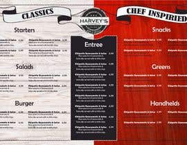 #14 for Experienced designer for American Restaurant Menu by LettersDi