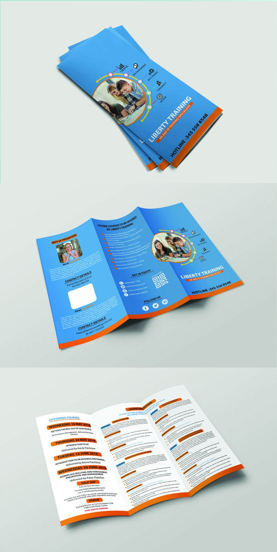 Contest Entry #8 for Design a training course brochure