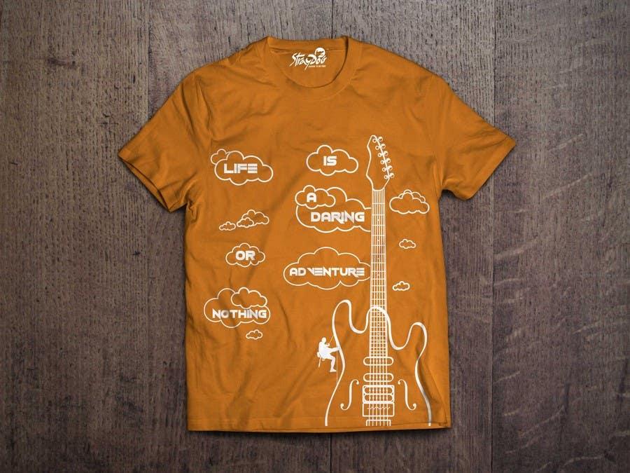 Penyertaan Peraduan #                                        116                                      untuk                                         Design a T-Shirt for StrayDog (6-8 WINNERS)
