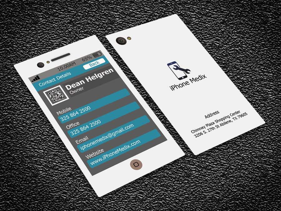Konkurrenceindlæg #63 for BUSINESS CARD DESIGN/CELLPHONE & TABLET REPAIR -- 2