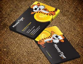 #130 for design business card for Money Tiger by aminur33