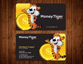 #132 for design business card for Money Tiger by aminur33