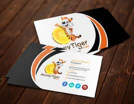 #158 for design business card for Money Tiger by farhanakea