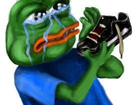 #17 for Draw a picture of sad pepe  with a shoe in hands by RogueBulldog