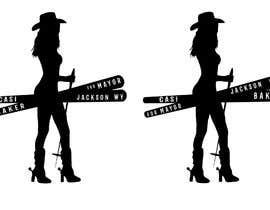 #29 for Sexy Cowgirl for Mayor Sticker by Alexander7117