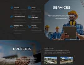 #55 Innovative civil engineering firm seeks a new modern website részére ByteZappers által