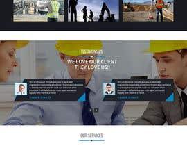 #19 Innovative civil engineering firm seeks a new modern website részére ehsanweb7 által