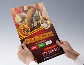 #67 for Need Graphic Design for My Restaurant Flyer af ferhanazakia