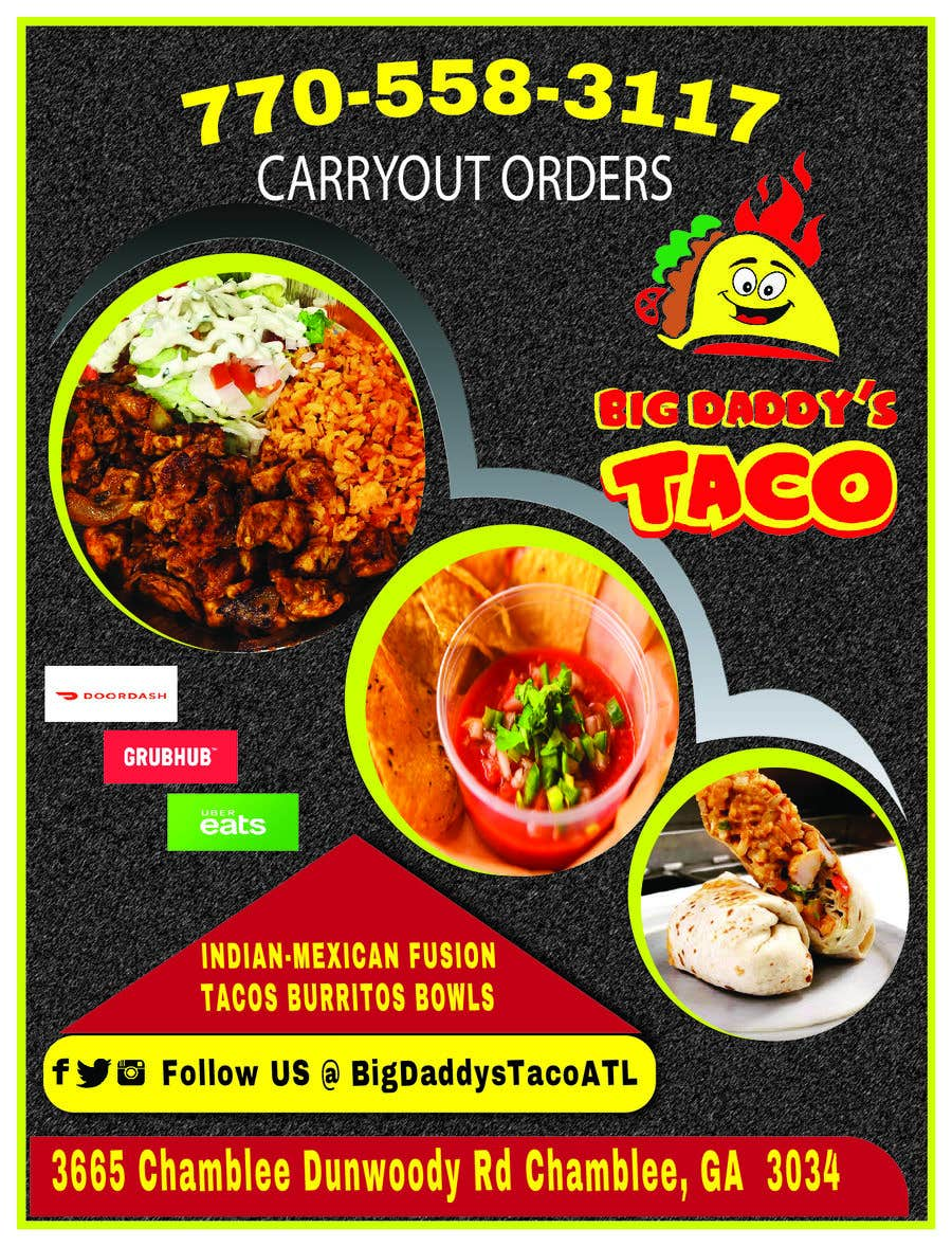Entry 35 By Sabitribos For Need Graphic Design For My Restaurant Flyer Freelancer