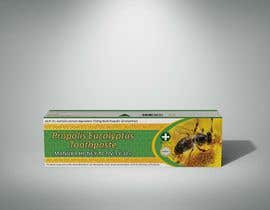 #22 para G'day honey propolis spray and Eucalyptus tooth paste package and label design por yafimridha