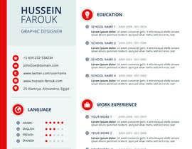 #5 cho I need a infographic cv/resume. bởi Decomex