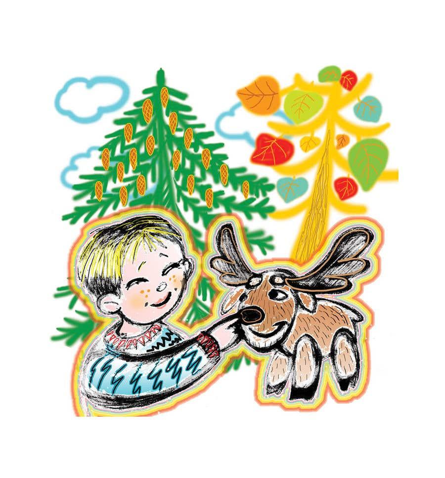 Bài tham dự cuộc thi #                                        10                                      cho                                         Illustrator for Children's book project