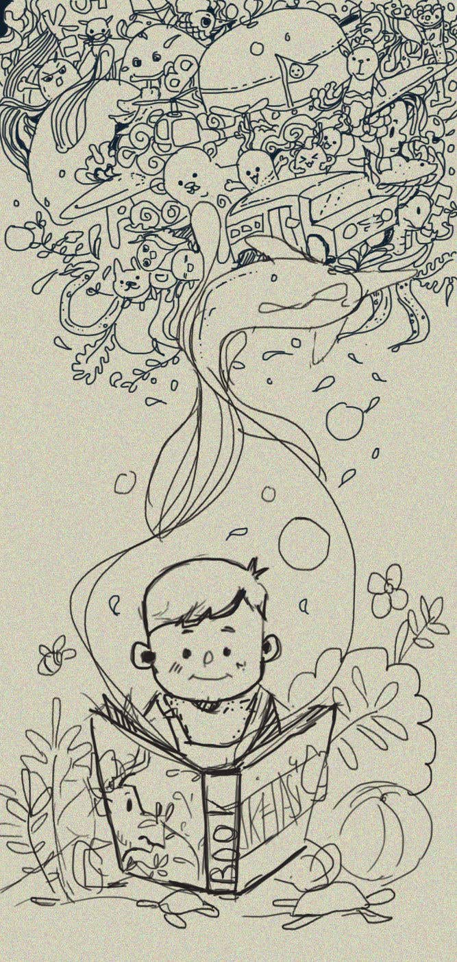 Bài tham dự cuộc thi #                                        45                                      cho                                         Illustrator for Children's book project