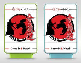 #77 cho Design a Sandwich Board Welcome Sign for an Aikido Dojo bởi monirkhan2928