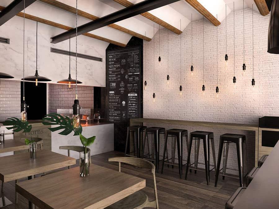 Interior restaurant design uplift freelancer