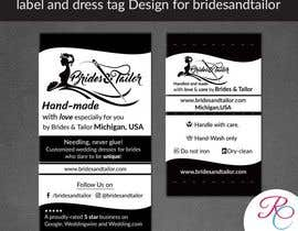 #15 para Designing a label and dress tag for my customized wedding dresses. por ReallyCreative