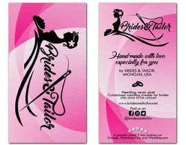 #4 para Designing a label and dress tag for my customized wedding dresses. por genesigua