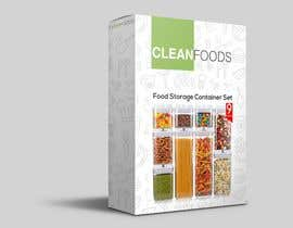#29 for PACKAGING DESIGN for food storage container set - GUARANTEED/SEALED by alfonsoverlezza