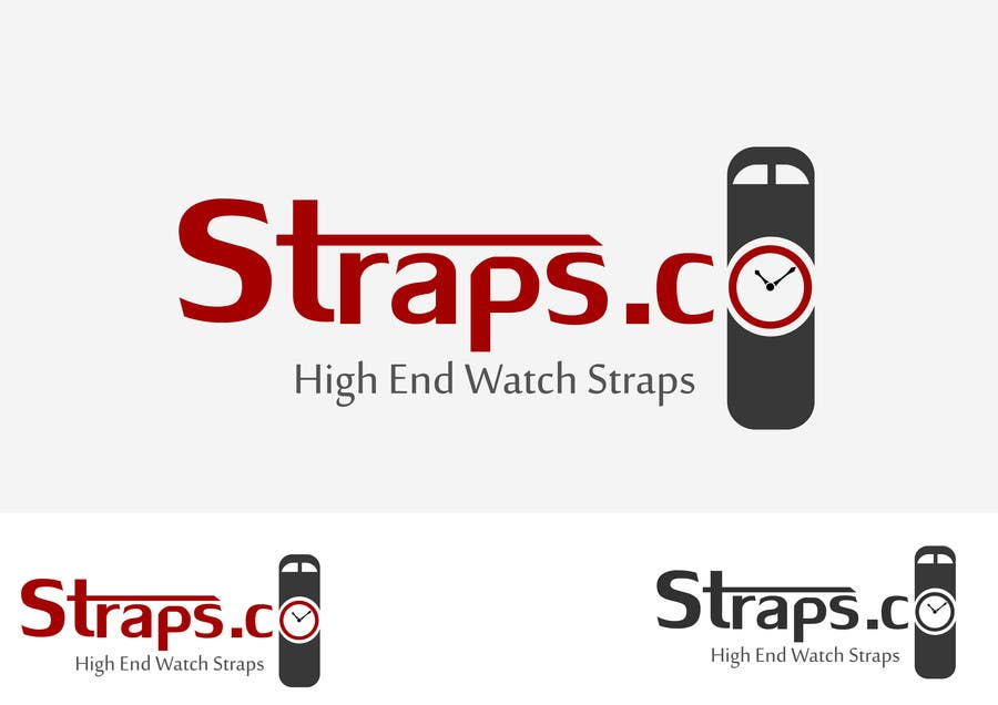 Contest Entry #595 for Logo Design for Straps.co