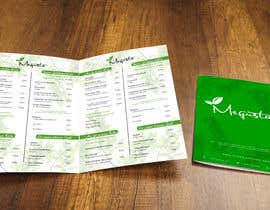 #17 para Modern design for a minimal menu/carte (Restaurant) por Bujeiro