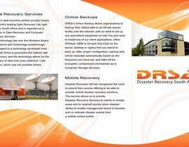nº 10 pour Brochure Design for Disaster Recovery South Africa par MagicProductions