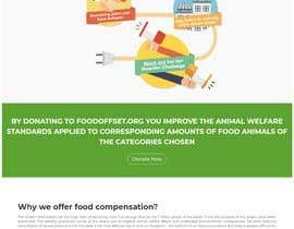 #9 pentru Build the website for the first food animal welfare compensation platform: foodoffset.org, simple but slick (without payment page) de către mafiax9