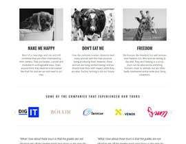#14 pentru Build the website for the first food animal welfare compensation platform: foodoffset.org, simple but slick (without payment page) de către mafiax9