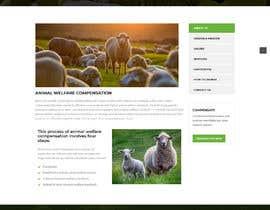 #16 pentru Build the website for the first food animal welfare compensation platform: foodoffset.org, simple but slick (without payment page) de către u2smile85