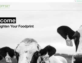 #4 pentru Build the website for the first food animal welfare compensation platform: foodoffset.org, simple but slick (without payment page) de către dannyfreelancer