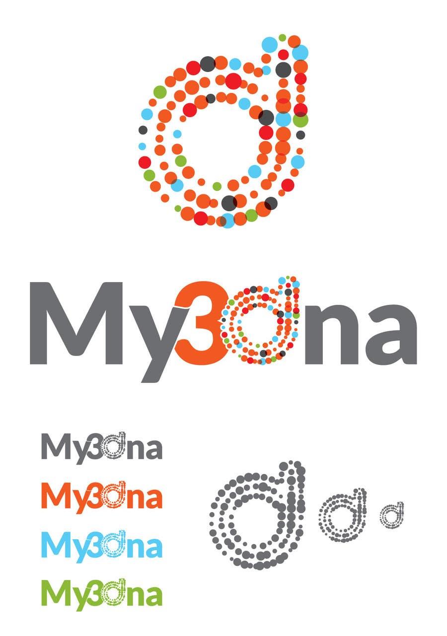 Kilpailutyö #                                        71                                      kilpailussa                                         Design a Logo for My3Dna Inc