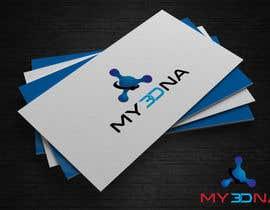 Nro 81 kilpailuun Design a Logo for My3Dna Inc käyttäjältä blueeyes00099