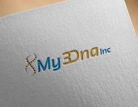 Nro 43 kilpailuun Design a Logo for My3Dna Inc käyttäjältä basaratun