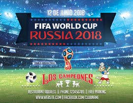 #6 cho Russia 2018 Worldcup - Restaurant Placemat bởi Ecku