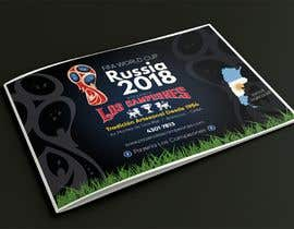 #12 cho Russia 2018 Worldcup - Restaurant Placemat bởi mohamedgamalz
