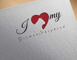 Beautylady tarafından Logo Design for ilovemyGermanShepherd.com için no 38