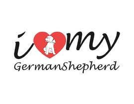 Tasnubapipasha tarafından Logo Design for ilovemyGermanShepherd.com için no 28