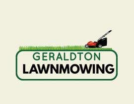 #10 for A logo designed for new lawnmowing business No set ideas show me what you can do Want something eye catching. Will eventually go on the side of a vehicle and on business cards and flyers.  name is geraldton lawnmowing. Business will also do maintenance by sitizulaikha96