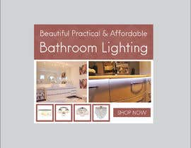 #43 for Design a Banner for Email - Bathroom Lighting af svetlanadesign