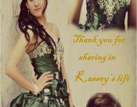 #15 para Design a Flyer for a Thank you Card por teescake03