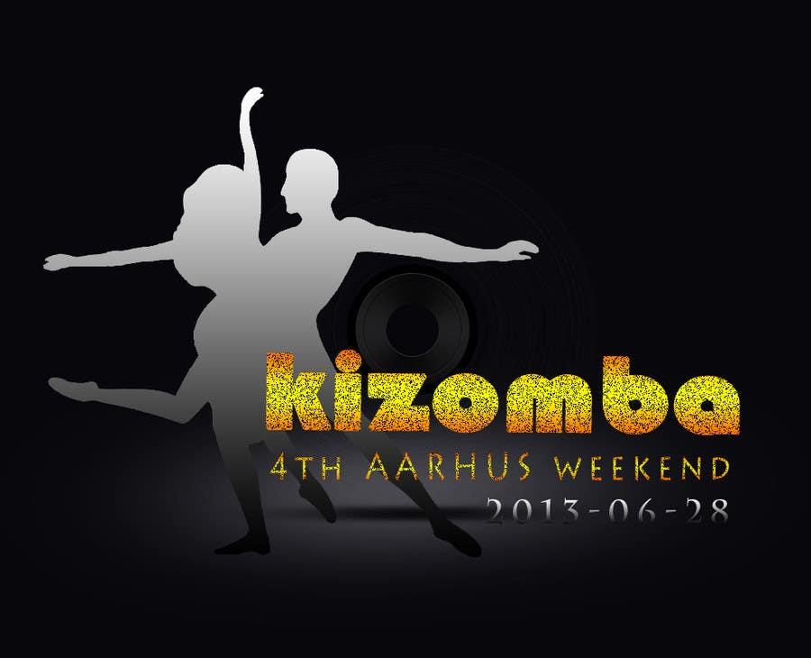 Конкурсная заявка №61 для Graphic Design for Kizomba-aarhus.dk