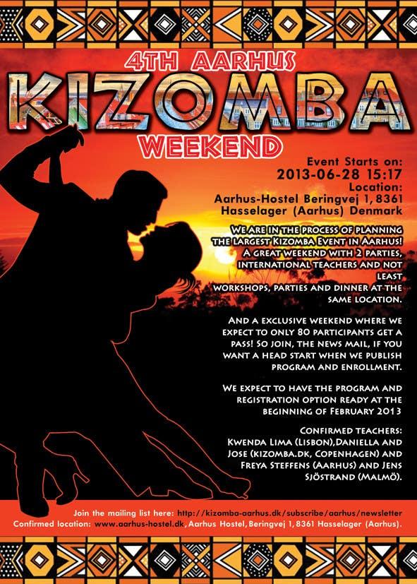 Inscrição nº                                         71                                      do Concurso para                                         Graphic Design for Kizomba-aarhus.dk