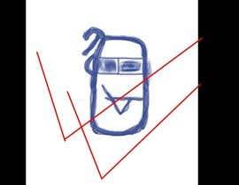 #18 untuk Design a sketch Logo like my drawing oleh fshahid5850