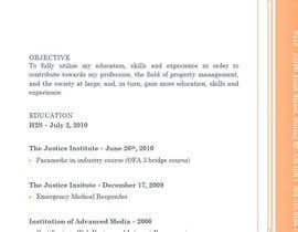 nº 1 pour Make my resume awesome to get me a job par saadzia571